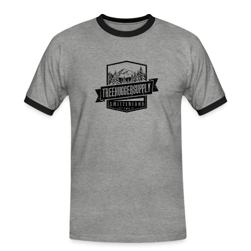 Treehuggersupply neu - Männer Kontrast-T-Shirt