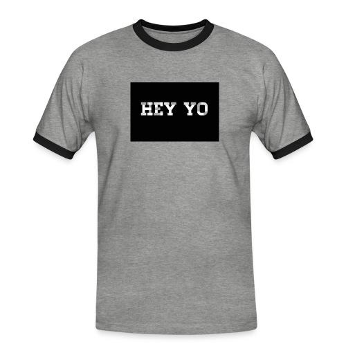 Hey yo - T-shirt contrasté Homme