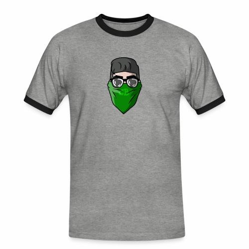 GBz bandana logo - Men's Ringer Shirt