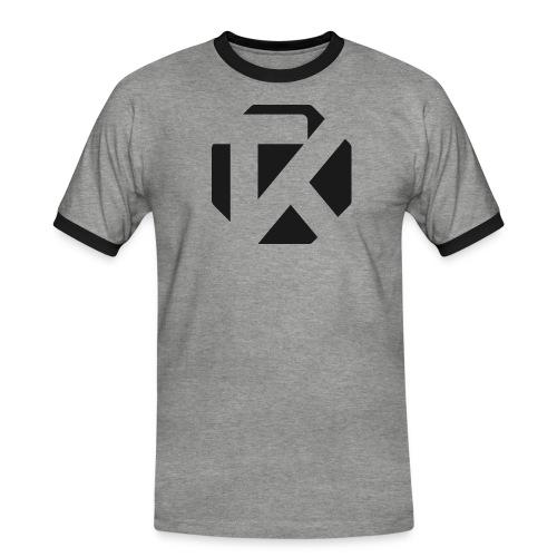 Logo TK Noir - T-shirt contrasté Homme