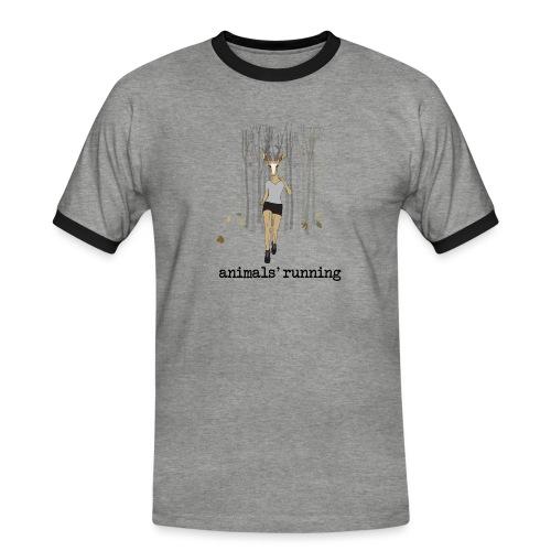 Antilope running - T-shirt contrasté Homme