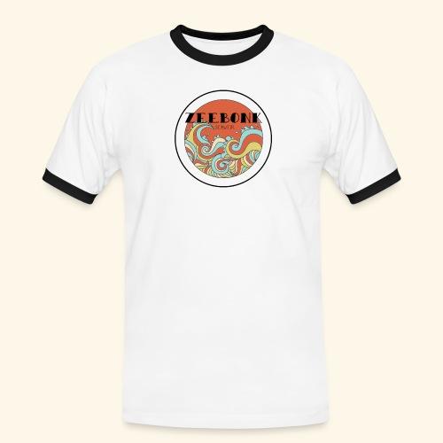 zeebonkwaves - Mannen contrastshirt