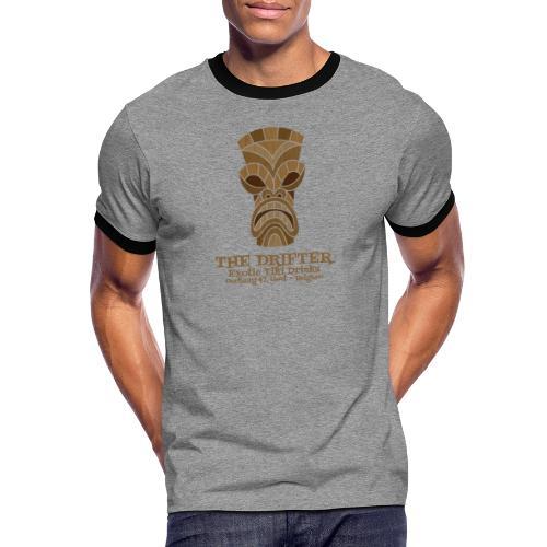 tshirt logo - Mannen contrastshirt