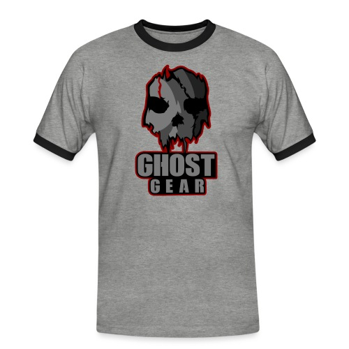 Ghost Gear Skull - Men's Ringer Shirt