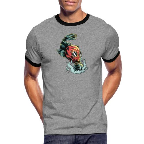 toxique - T-shirt contrasté Homme