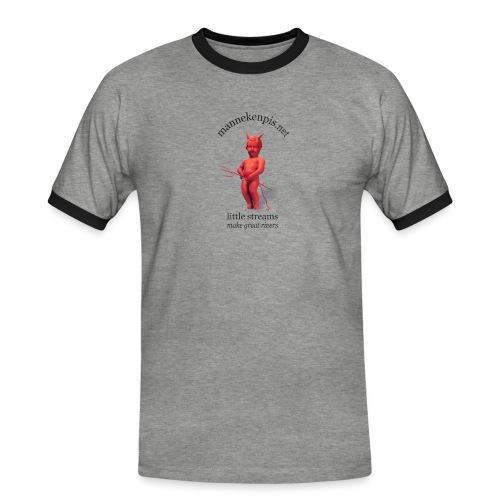 DiABLES ROUGES ♀♂   mannekenpis - T-shirt contrasté Homme