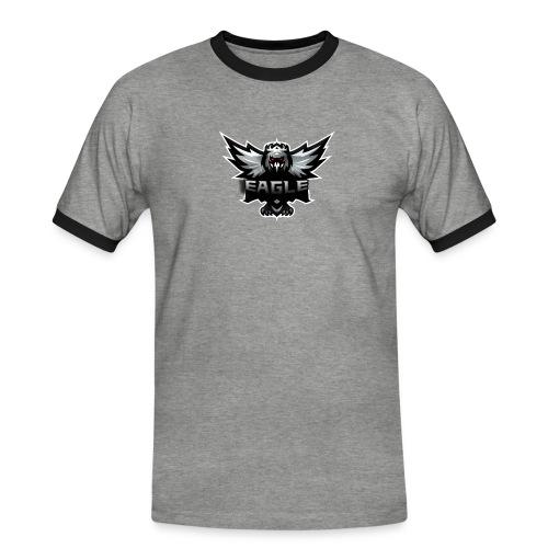 Eagle merch - Herre kontrast-T-shirt
