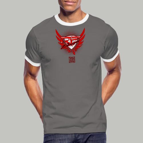 RFD_2PRINT (bitte max. 40°/verkehrt waschen) - Männer Kontrast-T-Shirt