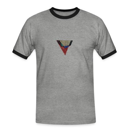 Flip Side Graphite Logo - Men's Ringer Shirt