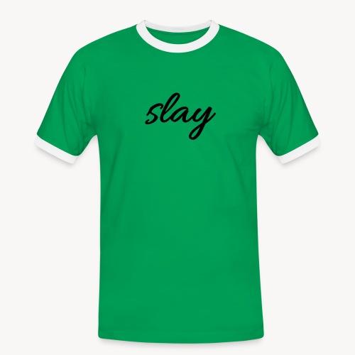 SLAY - Miesten kontrastipaita