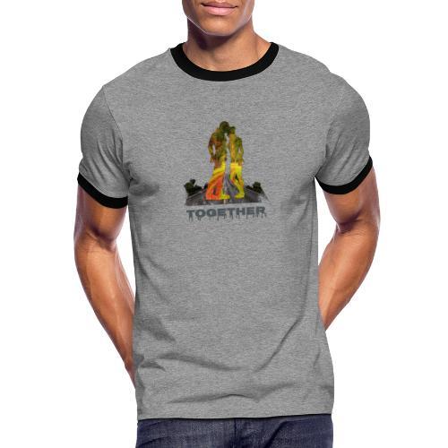 Together - T-shirt contrasté Homme