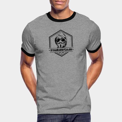 FREAKSHIRTS.de (Badge) - Männer Kontrast-T-Shirt