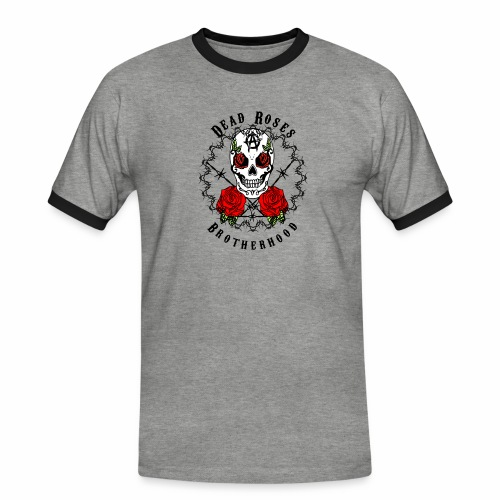 Dead Roses 2nd Logo - Men's Ringer Shirt