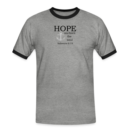 'HOPE' t-shirt - Men's Ringer Shirt