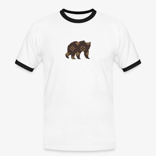 alouci x lv - Kontrast-T-shirt herr