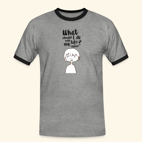 What should i do with my life?(again) - T-shirt contrasté Homme