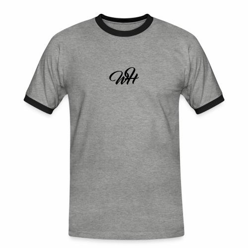 Basic logo - Herre kontrast-T-shirt