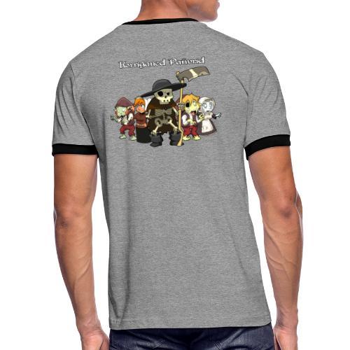 Kontadennoù ha mojennoù ar Marv - T-shirt contrasté Homme