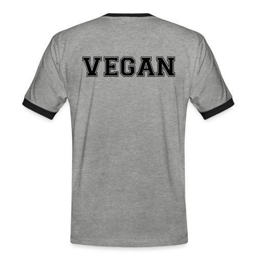 Vegan sports - Miesten kontrastipaita
