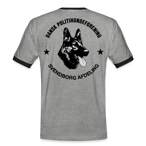 Svendborg ph sort - Herre kontrast-T-shirt