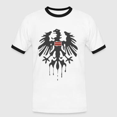 Österreich - Männer Kontrast-T-Shirt