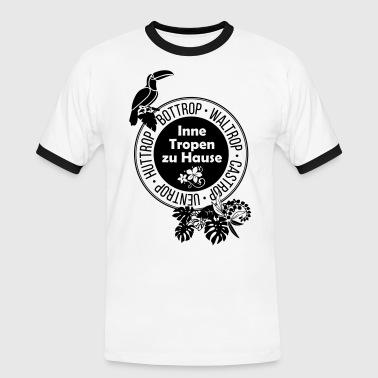Tropentour Ruhr - Männer Kontrast-T-Shirt