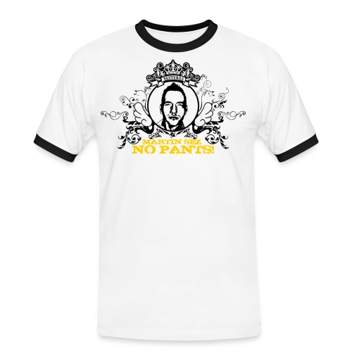 martin nopants - Kontrast-T-shirt herr