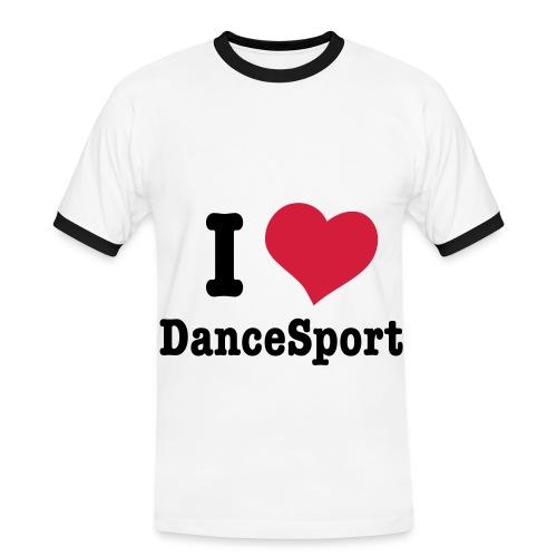 i love dancesport h vec - T-shirt contrasté Homme