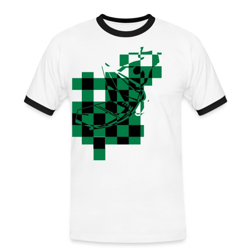 chequed me out - Men's Ringer Shirt