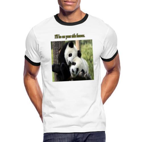Amistad con ternura - Camiseta contraste hombre