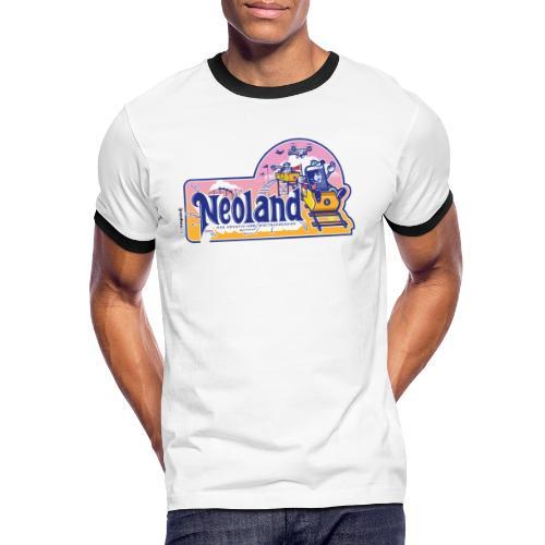 Neoland - das Kreativ- und Digitalparadies - Männer Kontrast-T-Shirt