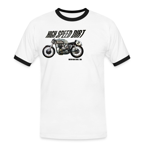 norton manx 500cc buena - Camiseta contraste hombre