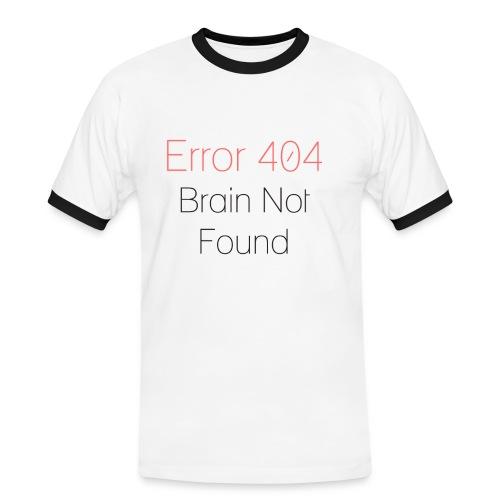 Error 404 - Maglietta Contrast da uomo