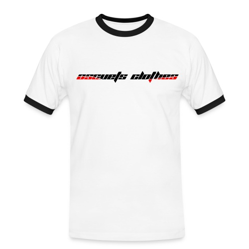Oscuest Clothets White T-Shirt - Camiseta contraste hombre