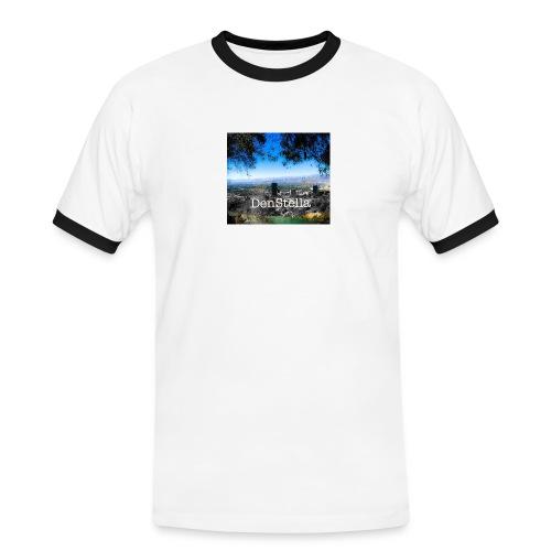 Denstella - Herre kontrast-T-shirt