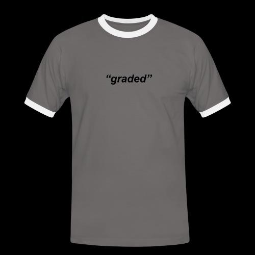Simple Logo, Graded - Men's Ringer Shirt