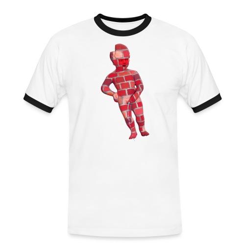 BRiCO ♀♂   mannekenpis - T-shirt contrasté Homme