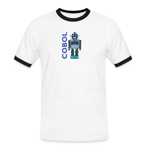 COBOL Robot - Men's Ringer Shirt