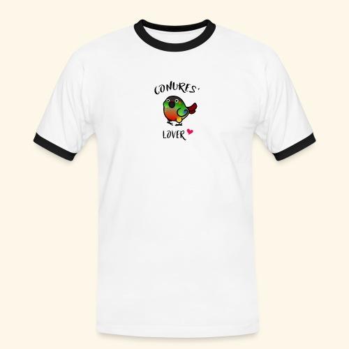 Conures' Lover: opaline - T-shirt contrasté Homme