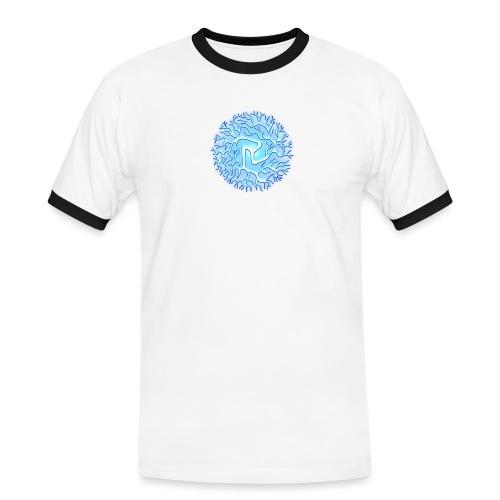 Chi Kugel Energie Antahkarana Reiki Chakra - Männer Kontrast-T-Shirt