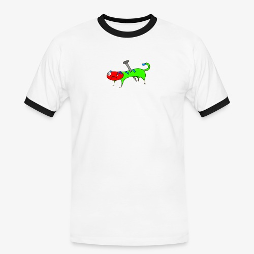 Kaatt - Kontrast-T-shirt herr