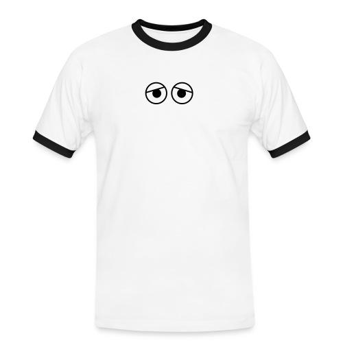 kure kure oegon - Kontrast-T-shirt herr