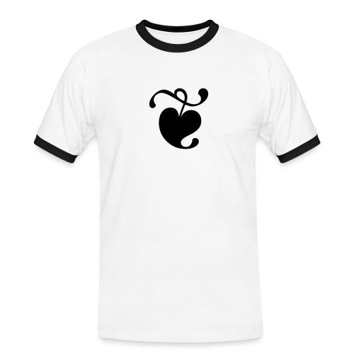 TDKOL Shirt (Heart) - Men's Ringer Shirt