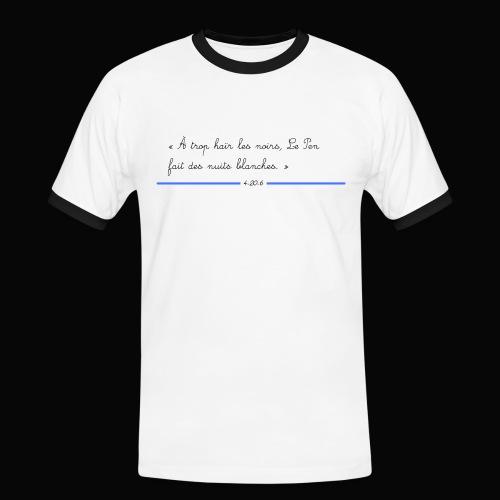 motif 3 jpg - T-shirt contrasté Homme