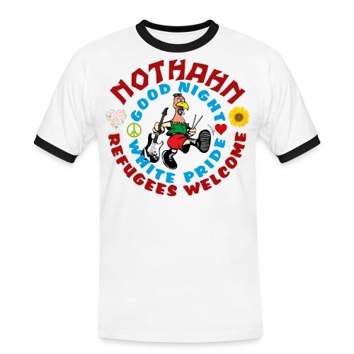 refugees_shirt - Männer Kontrast-T-Shirt