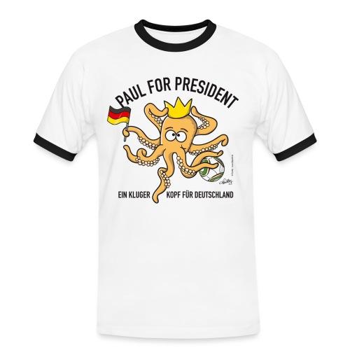kingpaul - Männer Kontrast-T-Shirt