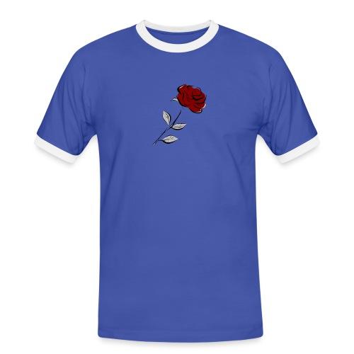 Rose FeKo Oberteile für Frauen und Männer. - Männer Kontrast-T-Shirt
