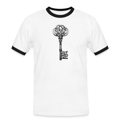CHAVE-celtic-key-png - Camiseta contraste hombre
