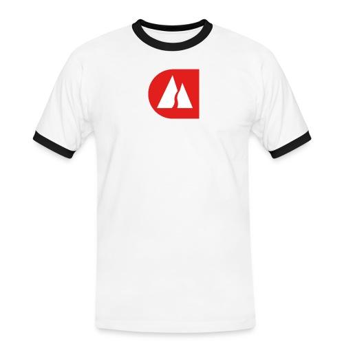 LZ2 - Männer Kontrast-T-Shirt