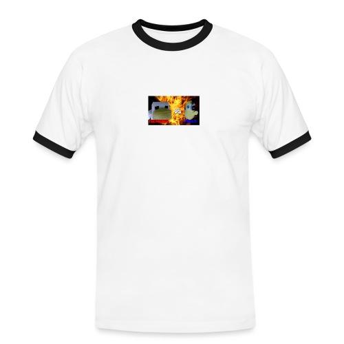 TGCHICKEN VS POLLO - Maglietta Contrast da uomo
